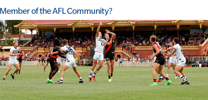 Learn more on how Marsh the AFL Community
