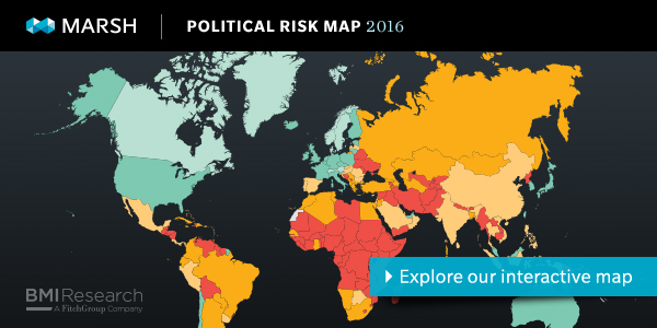 Interactive Political Risk Map 2016